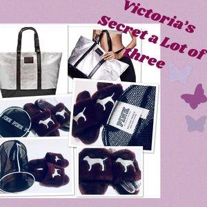 Victoria's Secret LOT x 3  Limited Edition Bag 🔥